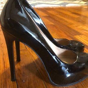 Black ex high heels
